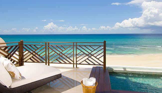 Ambassador Pool Ocean Front of Grand Velas Riviera Maya