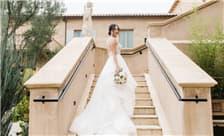 Allegretto Vineyard Resort Paso Robles Weddings - Stairway