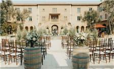 Allegretto Vineyard Resort Paso Robles Weddings - Courtyard Ceremony