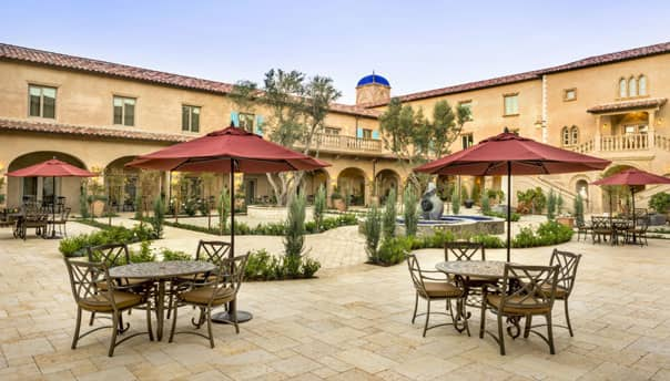 Paso Robles California Resort Plaza Del Magico Courtyard