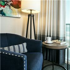Sip your morning coffee and enjoy the sound of lapping waves in your ocean front guest room