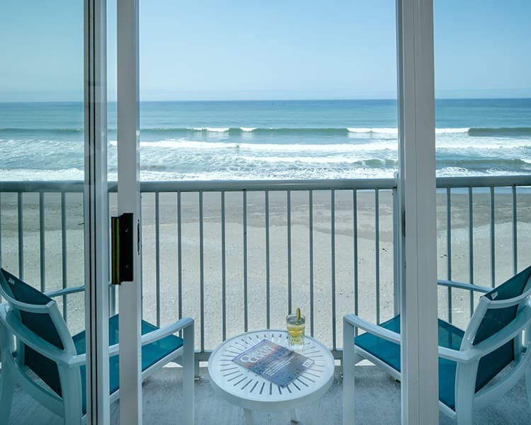Private Oceanfront Balconies