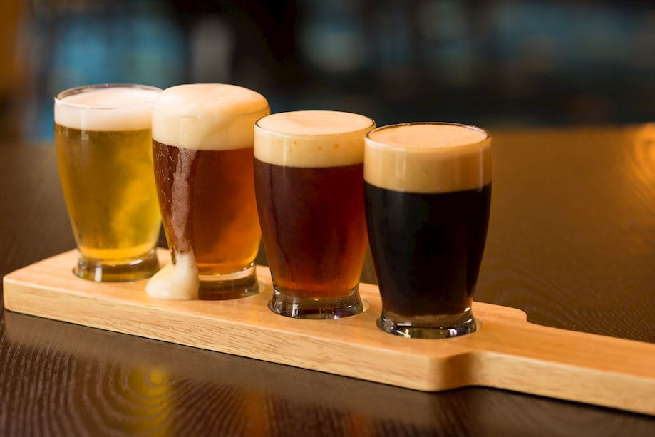 Flight of Beer from Roux