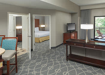 Rooms at DoubleTree by Hilton Asheville Biltmore