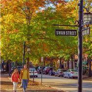 Historic Biltmore Village in North Carolina