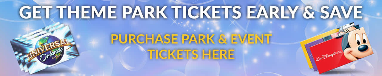 Get Theme Park Tickets Early & Save