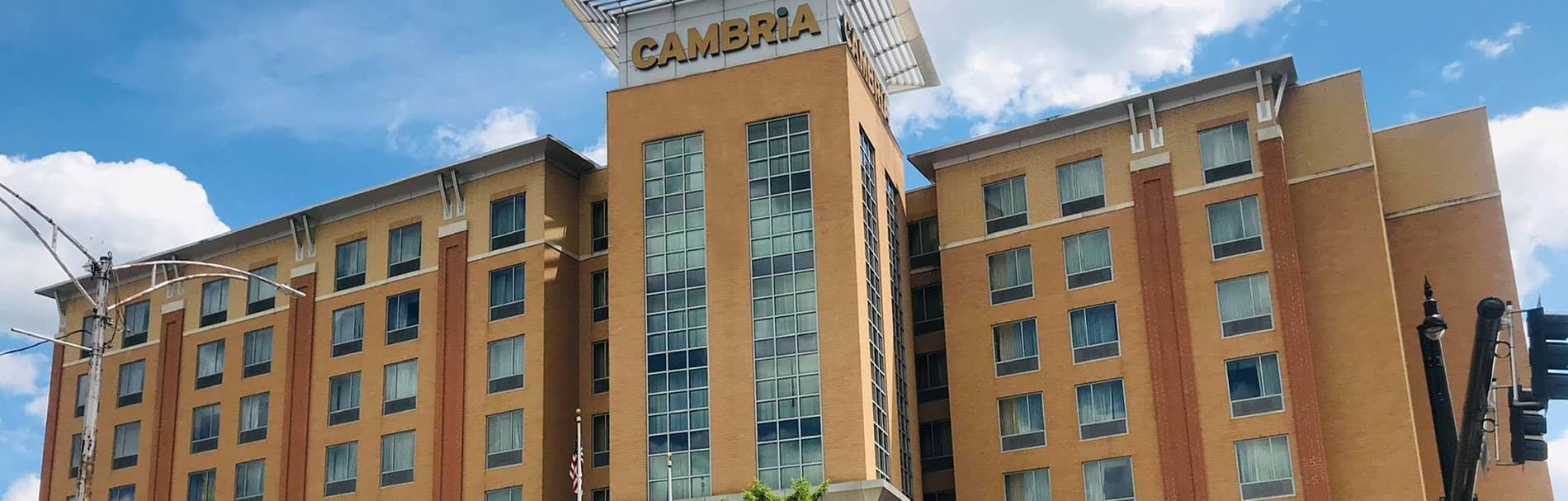 Location of Cambria Hotel Pittsburgh - Downtown, Pennsylvania