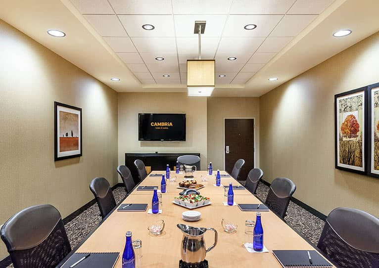 Stanley Board Room at Cambria Hotel Pittsburgh Downtown, Pennsylvania