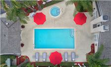Chase Suite Hotel Brea - Pool Drone View