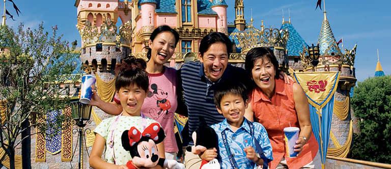 Disneyland at California