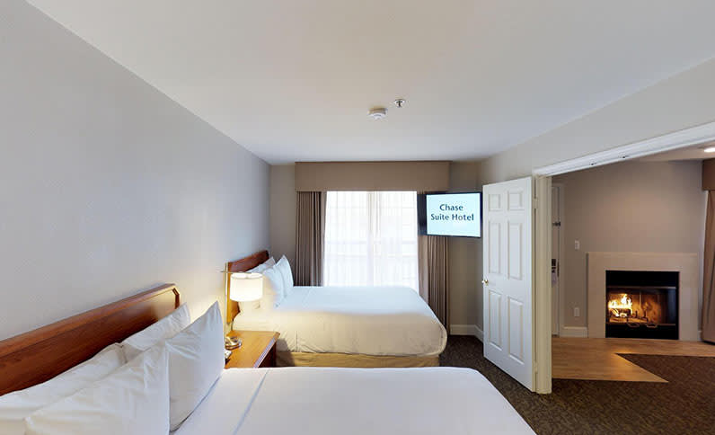 One Bedroom Two Double Beds Suite