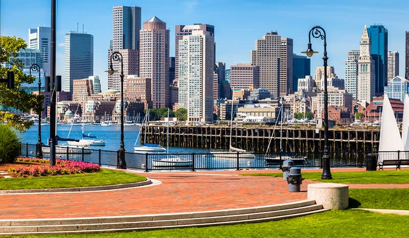 Boston, Massachusetts Boston Waterfront