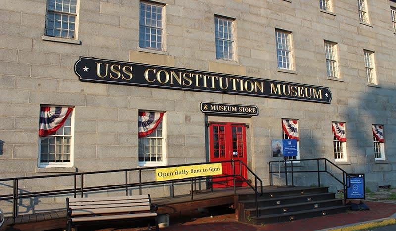Boston, Massachusetts USS Constitution Museum