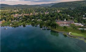 Ariel View Of The Otesaga Resort Hotel, NY