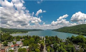 Cooperstown Lake Aerial