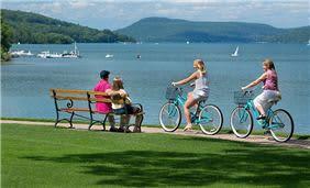 Otesaga Lawn Biking