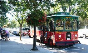 Downtown, Cooperstown Trolley