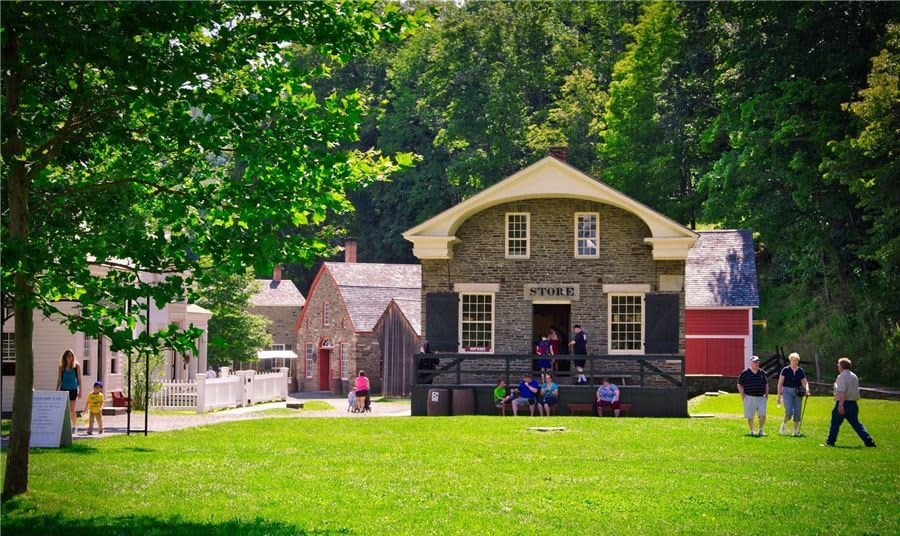 A Day at the Cooperstown Farmers' Museum