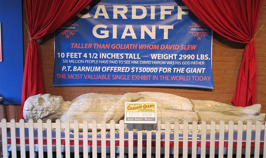 cardiff giant new york