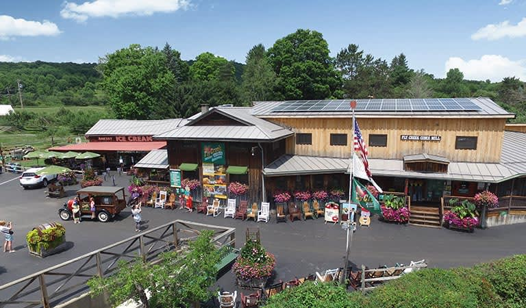 Cooperstown Fly creek cider Mill