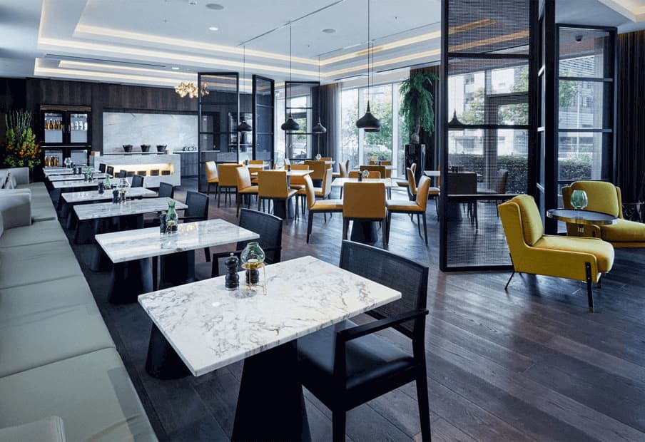 Copenhagen Marriott Executive Lounge