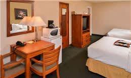 King Room Amenities in Courtesy Inn Eugene Hotel, Oregon