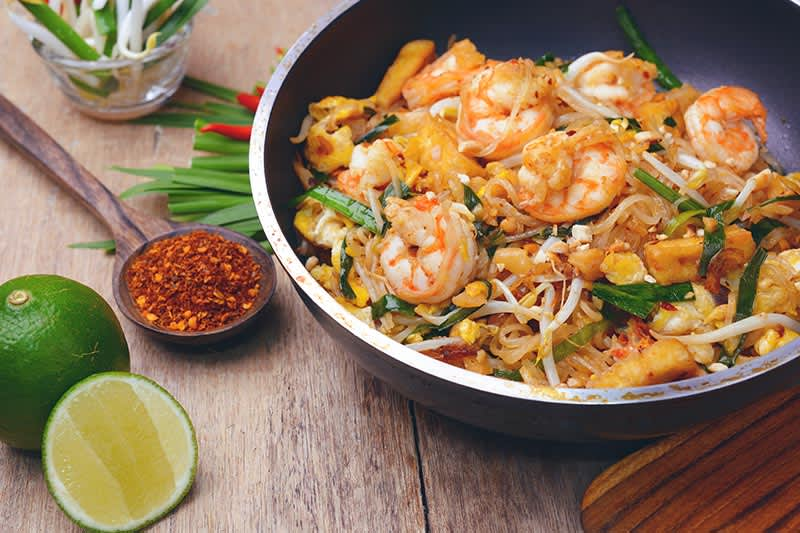Chao Pra Ya Thai Cuisine at Eugene hotel