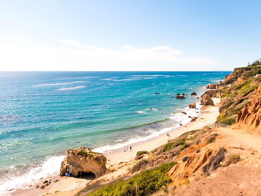 El Matador State Beach of Los Angeles, California