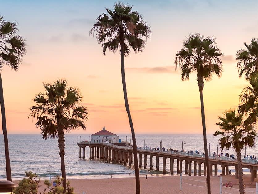 Manhattan Beach of Los Angeles, California