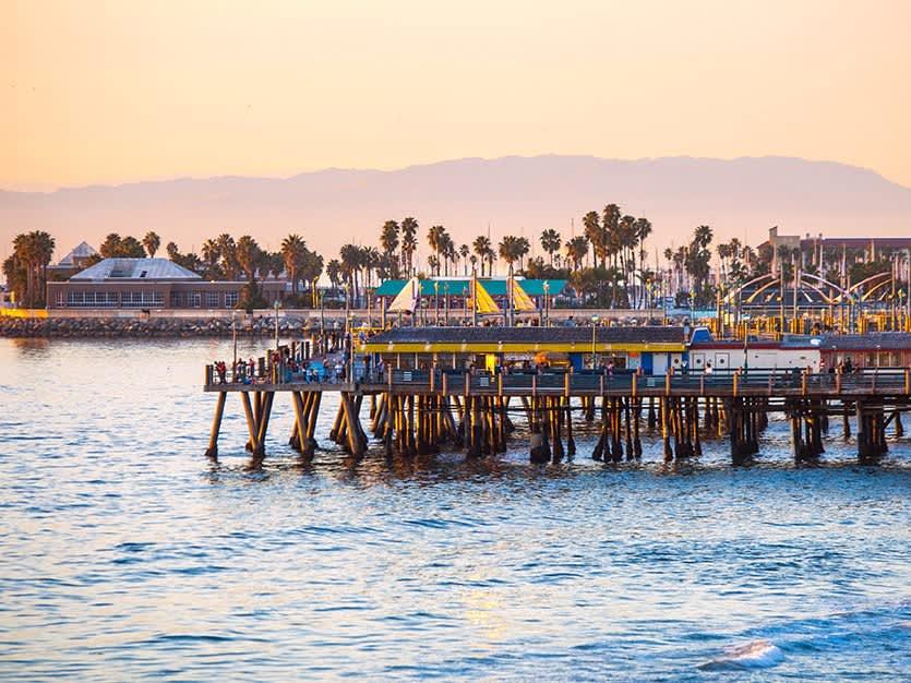 Redondo Beach of Los Angeles, California