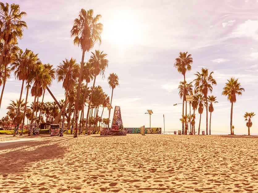 Venice Beach of Los Angeles, California