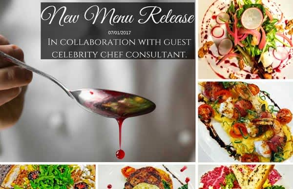 In Collaboration with Guest Celebrity Chef Consultant