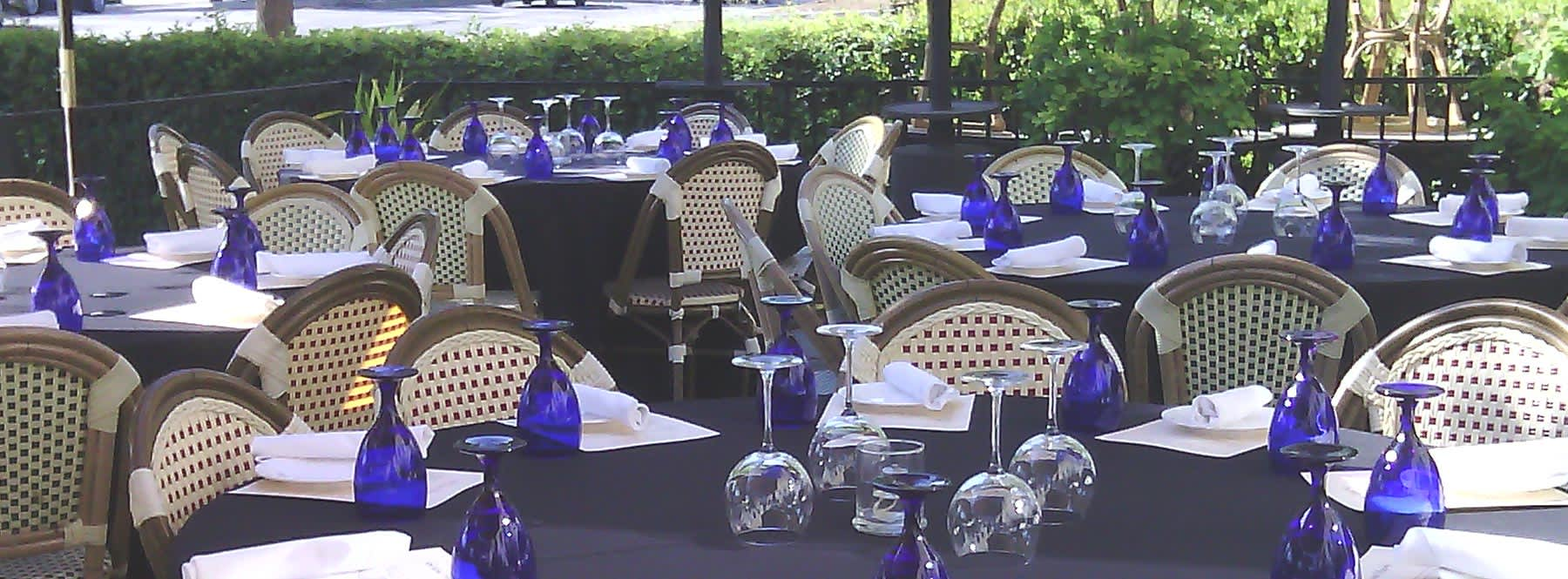 Outdoor Dining at Cucina Venti Restaurant Mountain View