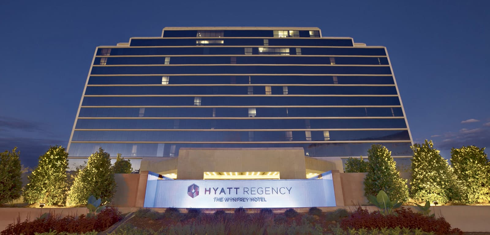Exterior Shot of The Wynfrey Hotel - Hyatt Regency in Birmingham, Atlanta