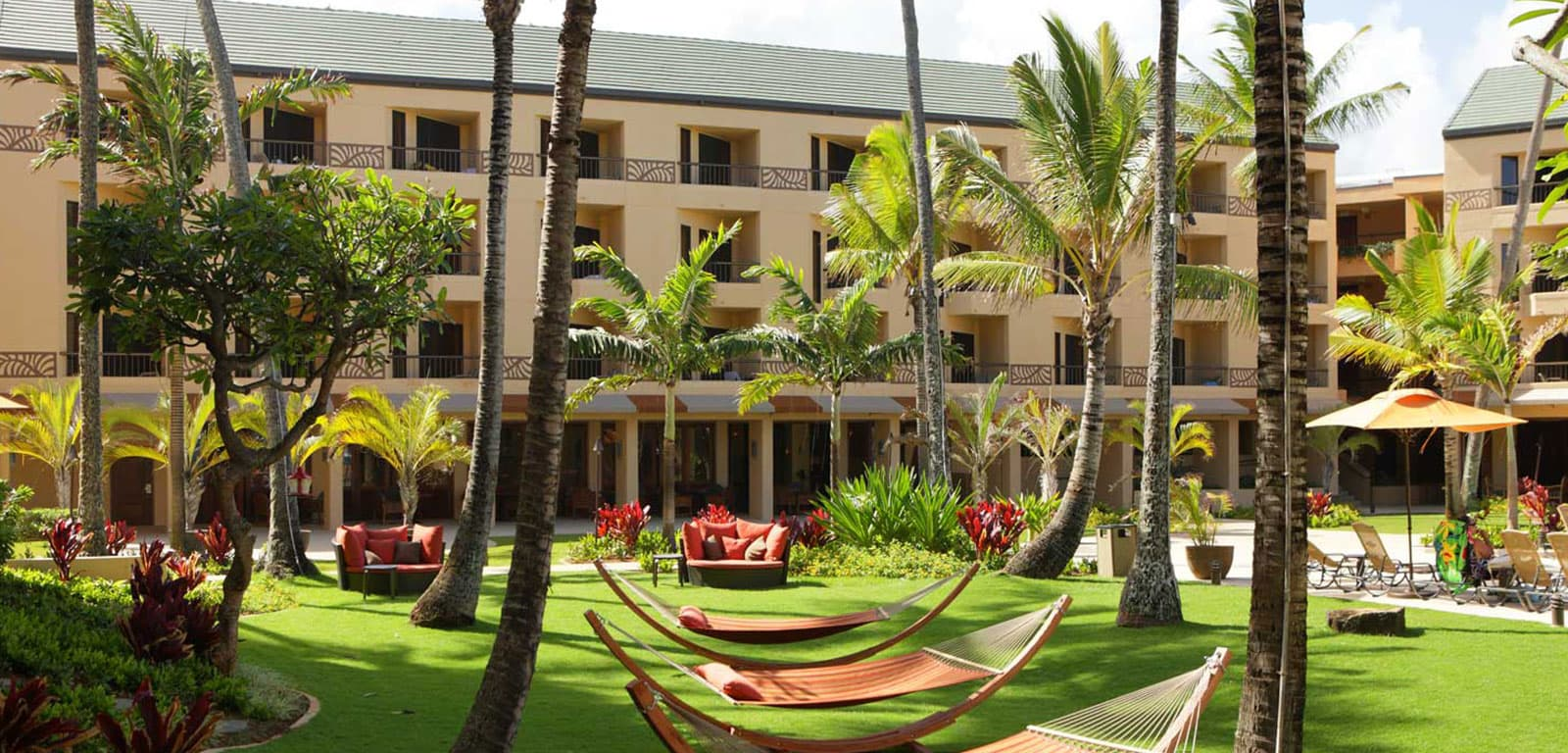 Our Courtyard at Marriott Kaua'i Coconut Beach