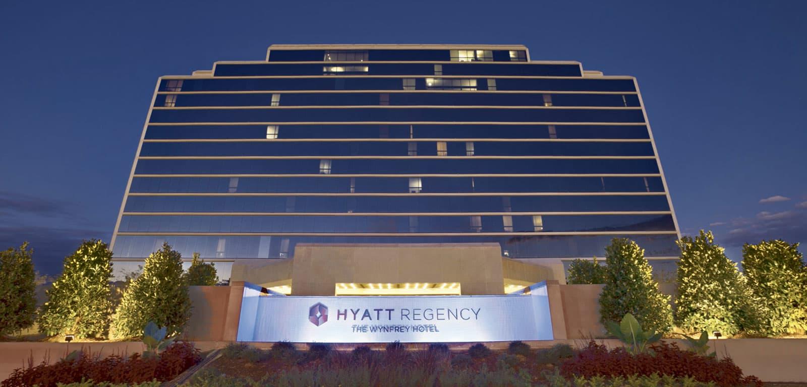 Exterior Shot of The Wynfrey Hotel - Hyatt Regency in Birmingham, Atlanta