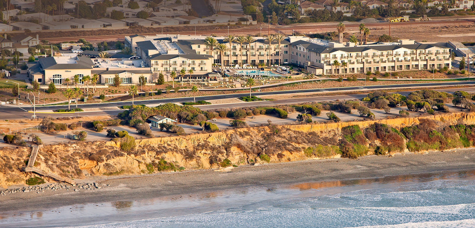 Exterior Aerial Shot of Cape Rey in Carlsbad