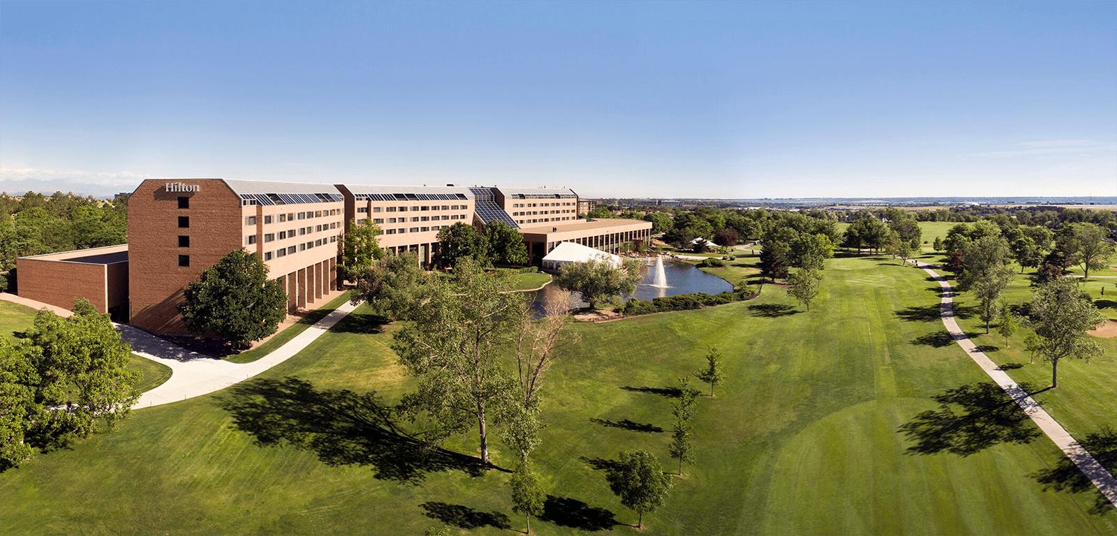 Exterior Hilton Denver Inverness in Colorado