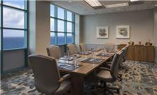 Oceanfront boardroom