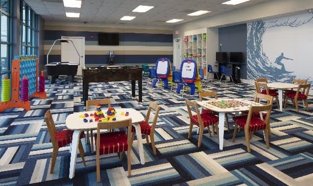 Cool Summer Fun for Kids at D-DAWGS Kidzone at Hilton Daytona Beach