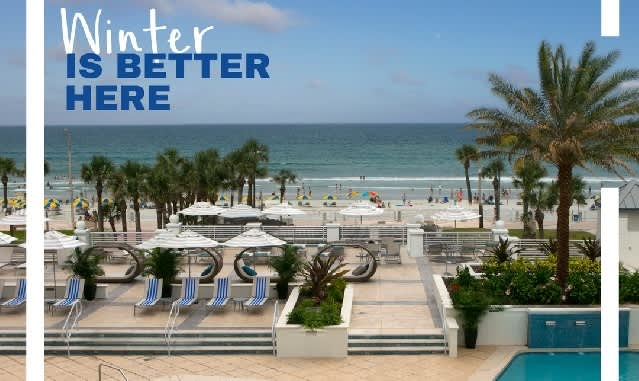 Winter Is Better Here: Holiday Packages at Hilton Daytona Beach Oceanfront