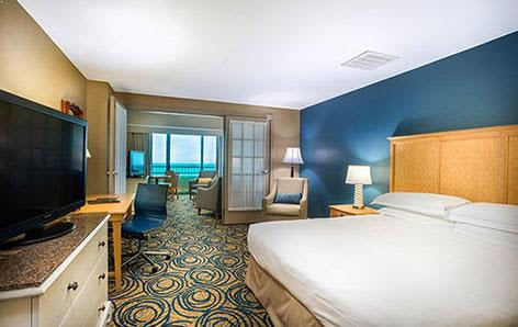 Hilton Daytona Beach Oceanfront Resort Ocean View Suite
