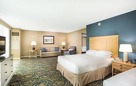 Ocean View Room at Hilton Daytona Beach Oceanfront Resort