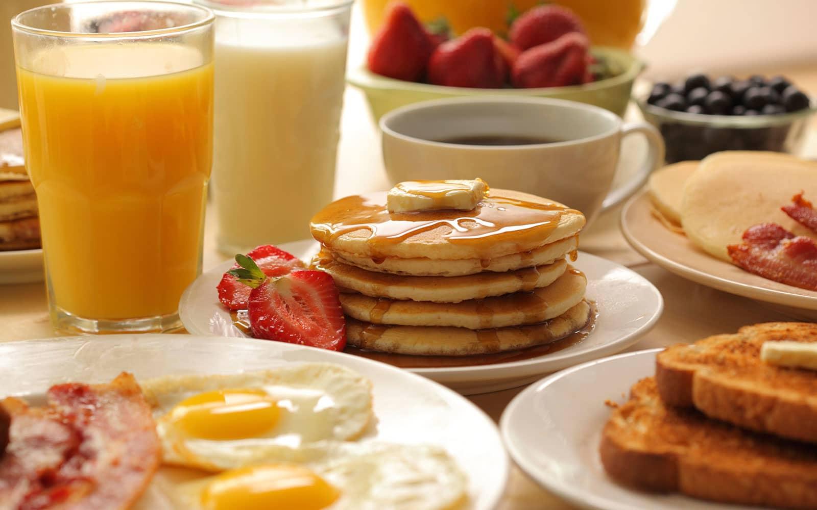 Beverage and Breakfast package