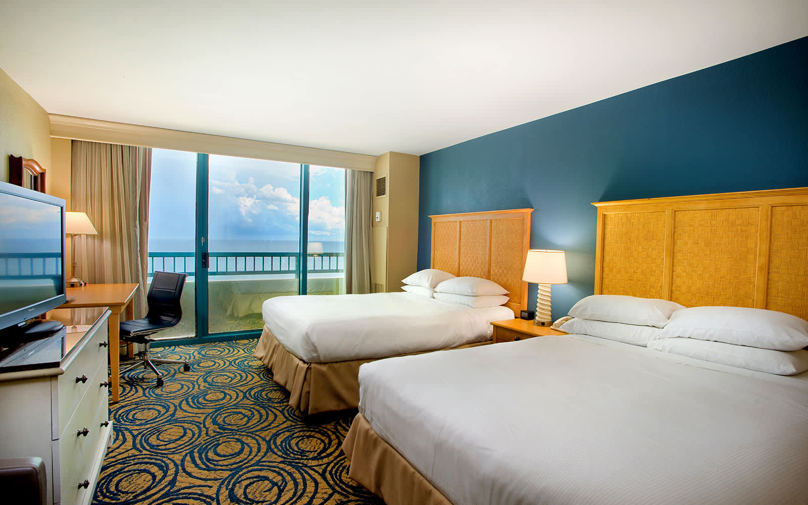 Hilton Daytona Beach Oceanfront Resort Guest Rooms