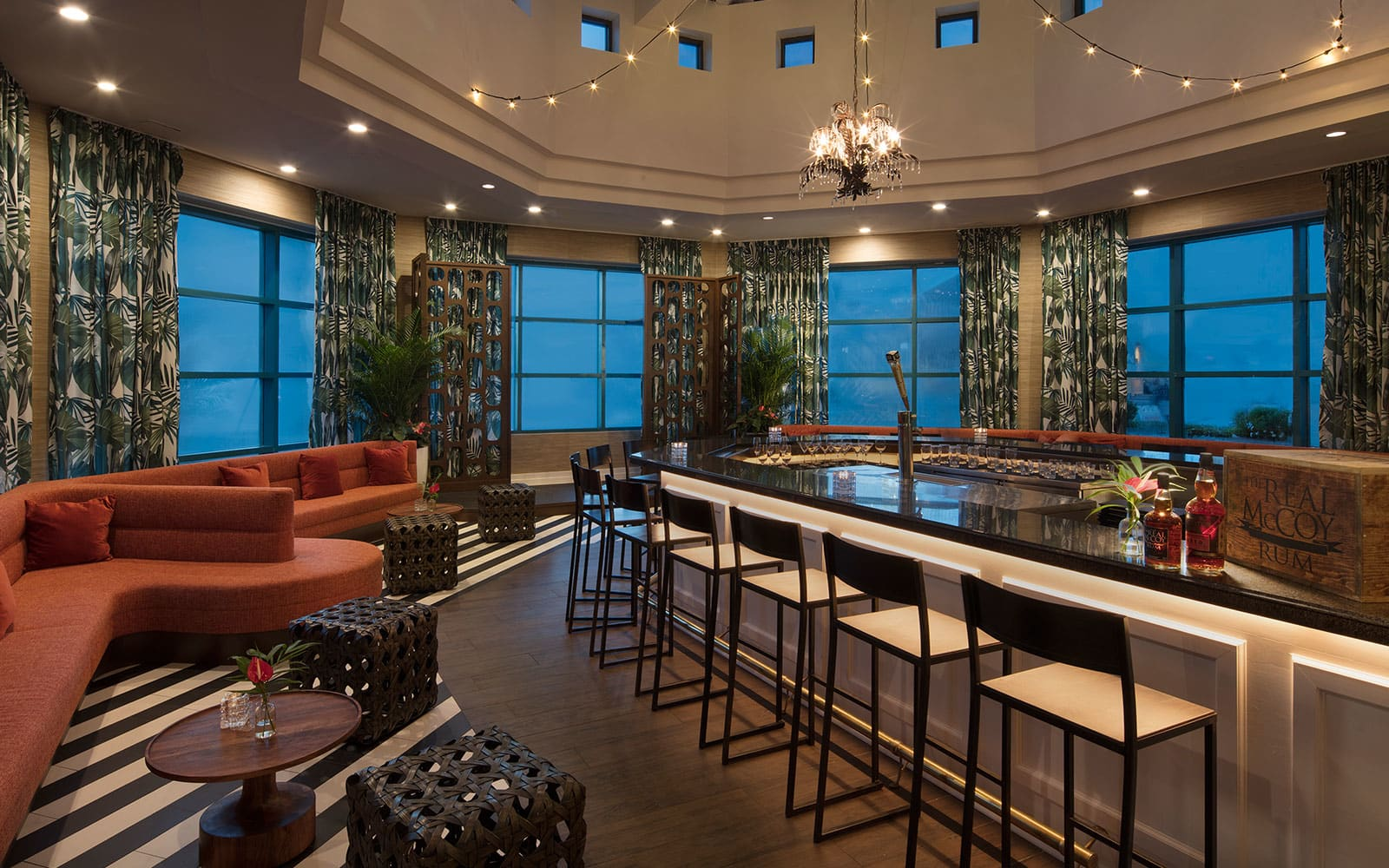 McCoys Rum Room at Hilton Daytona Beach Oceanfront Resort