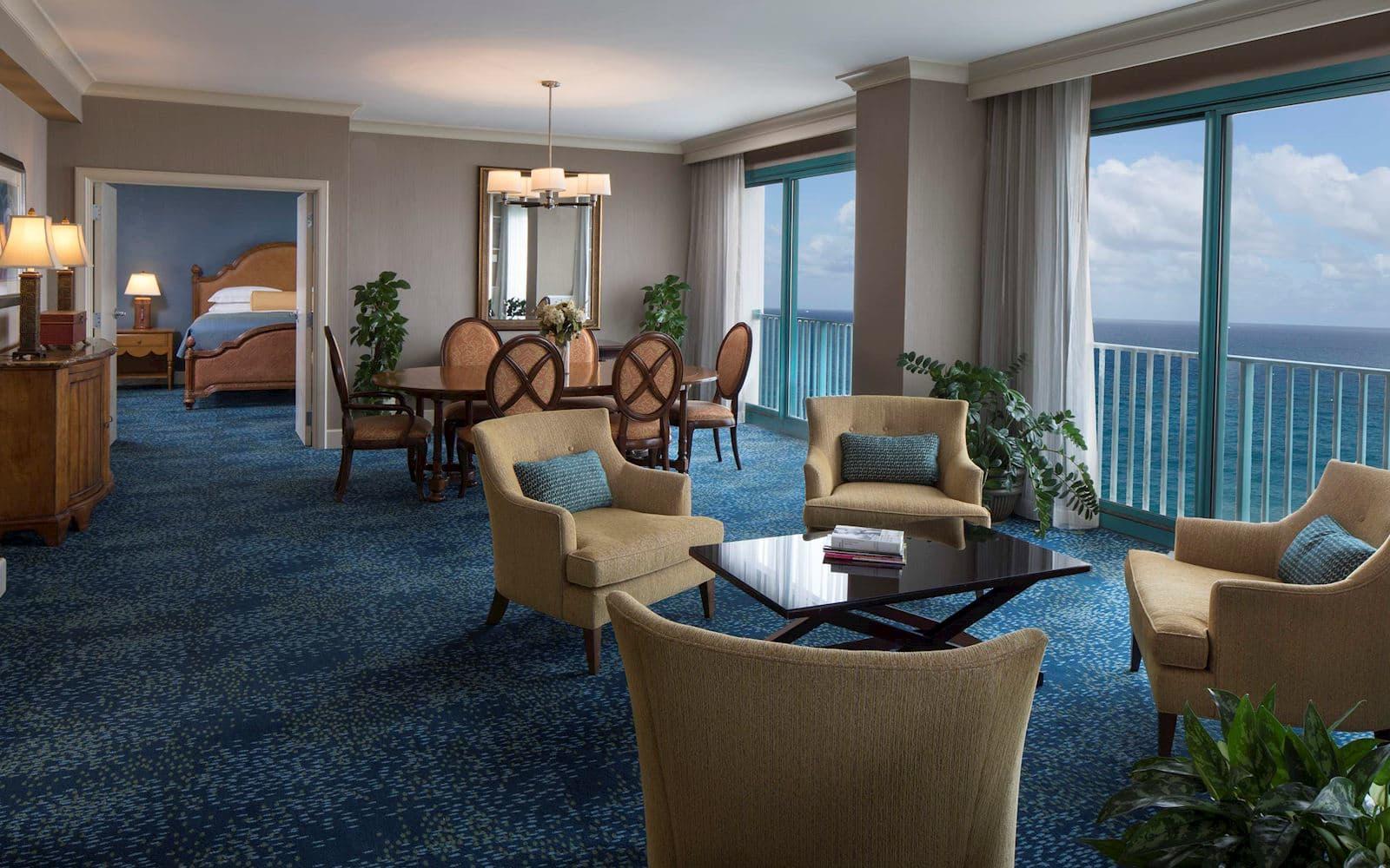 Rooms at Hilton Daytona Beach Oceanfront Resort