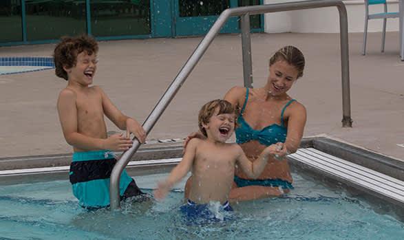 Swimming Pools at Hilton Daytona Beach Oceanfront Resort