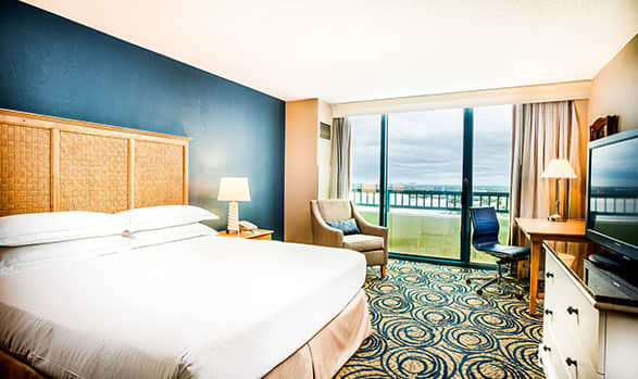 Cityview Room at Hilton Daytona Beach Oceanfront Resort