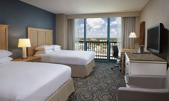 Hilton Daytona Beach Oceanfront Resort Hearing Accessible Room